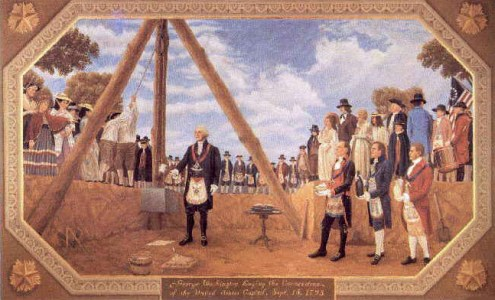 13th October 1792: Cornerstone laid for the White House | HistoryPod