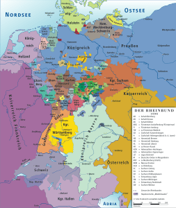Confederation of the Rhine 1806