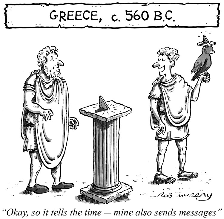 Alternative Histories: The Smartwatch in Ancient Greece