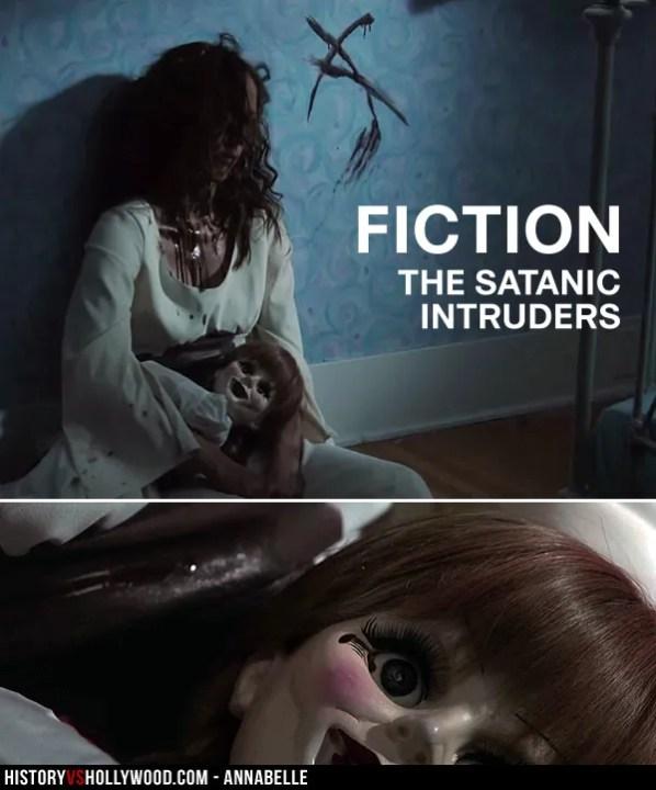 Satanic Intruder with Doll