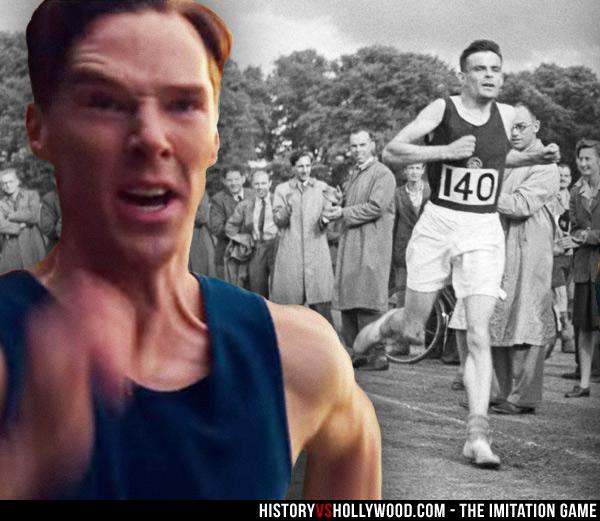 Alan Turing Marathon Race Runner