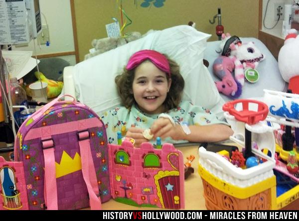 Annabel Beam in Hospital