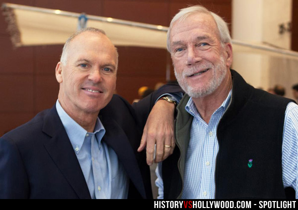 Michael Keaton and Walter Robinson