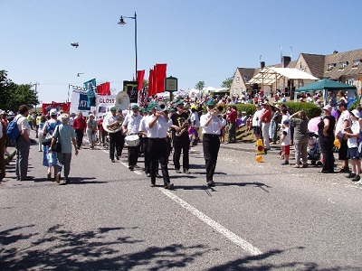 image of the tolpuddle martyrs day march