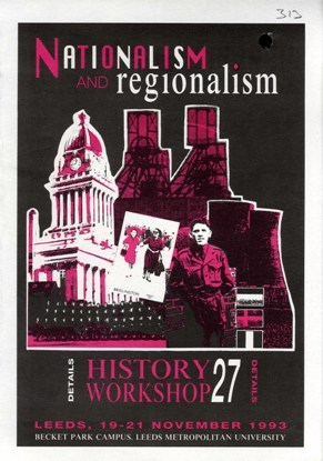 image of publicity for history workshop 27 in 1993