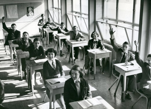 Blackwell Secondary Modern School. c1950. Crown copyright