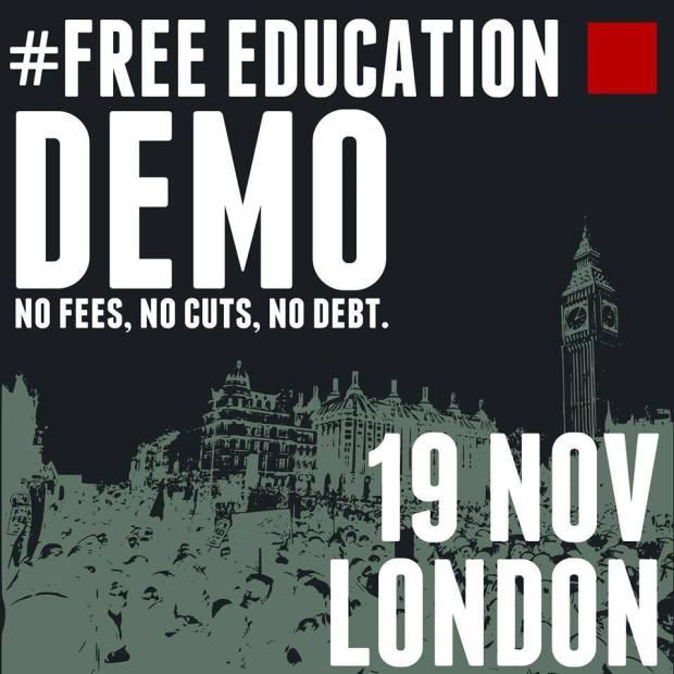 LondonFreeEducationDemo2014