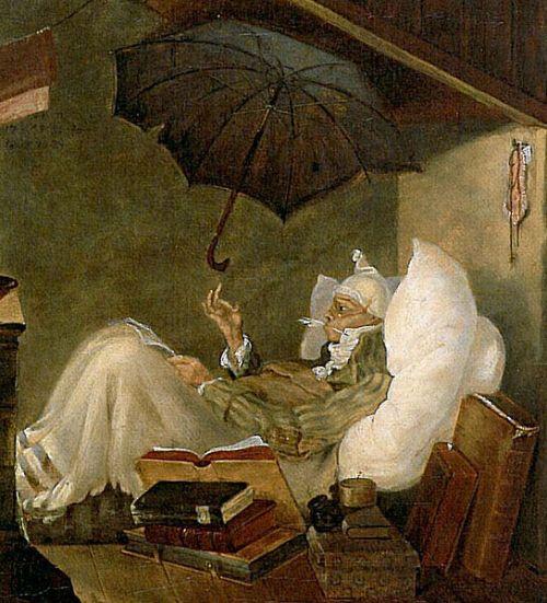 Der arme Poet, Carl Spitzweg, 1837