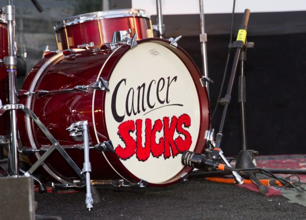 Cancer-Sucks-drumset