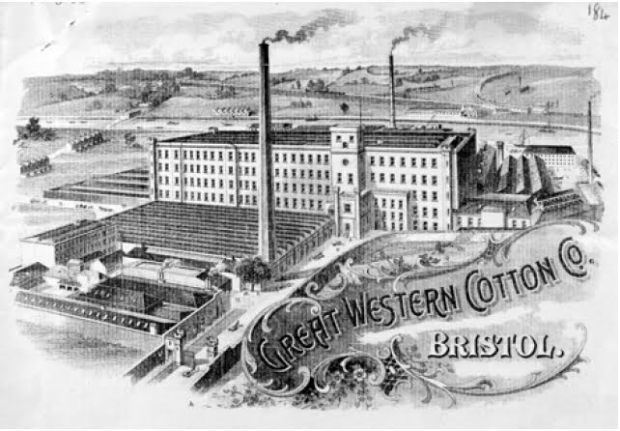 Great Western Cotton Co. image is: Bristol Record Office (BRO 13423/30)