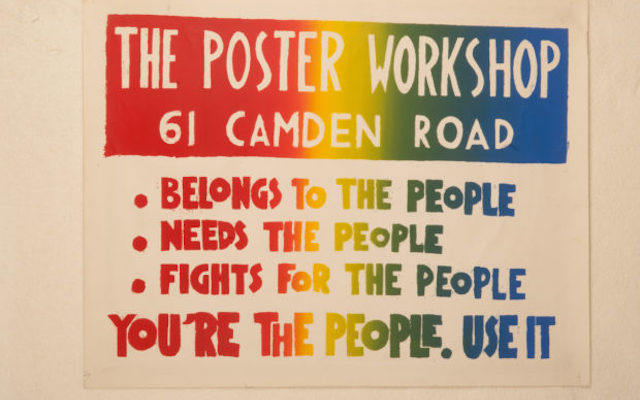 Remembering 1968 – The Poster Workshop, 1968-71