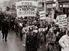 National Women's Liberation march, Oxford 1970