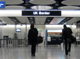 UK Border, Heathrow, 2010 (Wikimedia Commons/ Danny Howard)