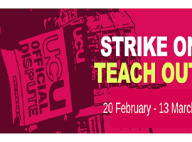 strike on teach out