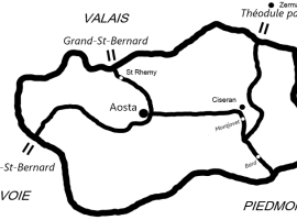map of valley