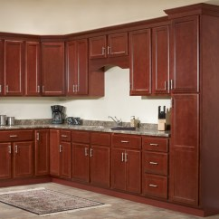 Kitchen Cabinet Set Remodeling Lincoln Ne Package Deals Jsi S Bristol Collection Cherry One Wall