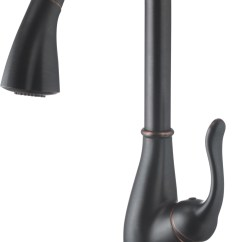 Oil Rubbed Bronze Pull Down Kitchen Faucet Kids Play Accessories Lifetime Warranty Single Handle