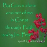 Quote of the Day ~ Grace and Faith~
