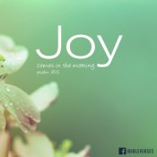 Joy Comes in the Morning ~ CHRISTian poetry by deboranann ~