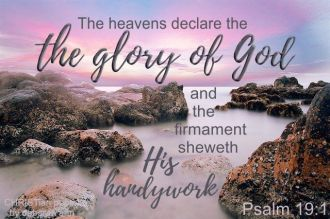 God's Glory Declared ~ CHRISTian poetry by deborah ann free to use
