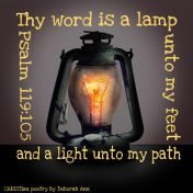 The Light Unto My Path ~ CHRISTian poetry by deborah ann free to use