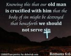 The Old Man Crucified ~ CHRISTian poetry by deborah ann free to use