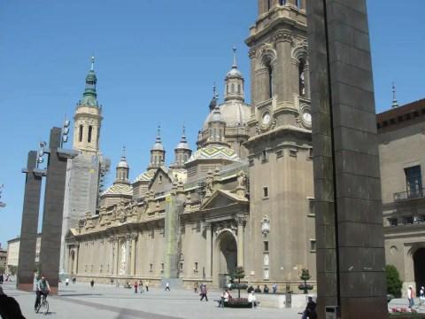 Saragossa - widok - architektura