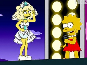 Lady GaGa- The Simpsons