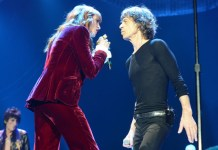 Mick Jagger Rolling Stones Florence Welch