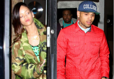 Rihanna και Chris Brown in studio