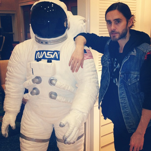 Jared Leto at Instagram