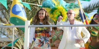 Jennifer Lopez And Pitbull we-are-one
