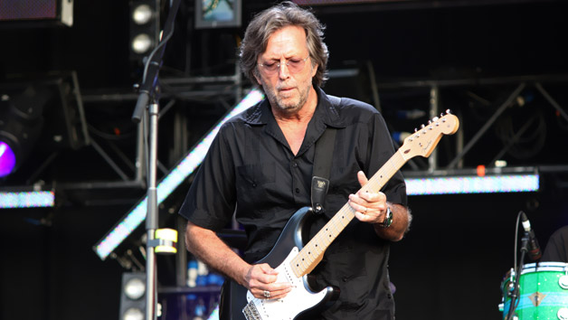 Eric Clapton ένα tribute 'For Jack' Bruce
