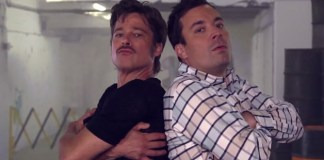 Ο Brad Pitt και το επικό breakdance στον Jimmy Fallon #video