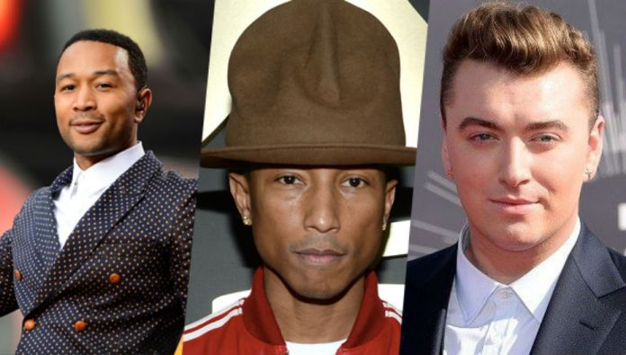 Grammy Awards 2015: Sam Smith, Pharrell Williams και John Legend προστίθενται στο line up