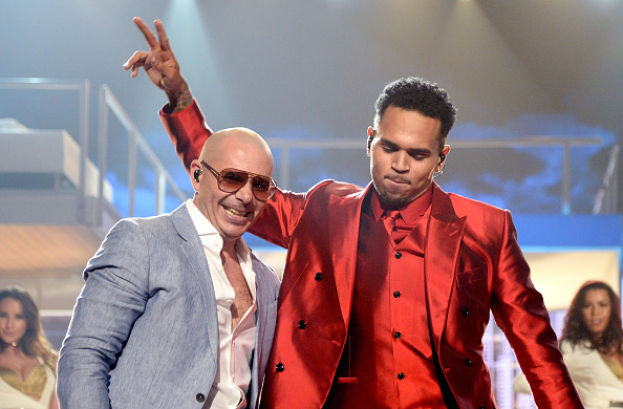 Billboard Music Awards 2015 Pitbull e Chris Brown