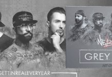 NEBMA - Grey - Getting Real Every Year (CD Album Cover) - Hit Channel