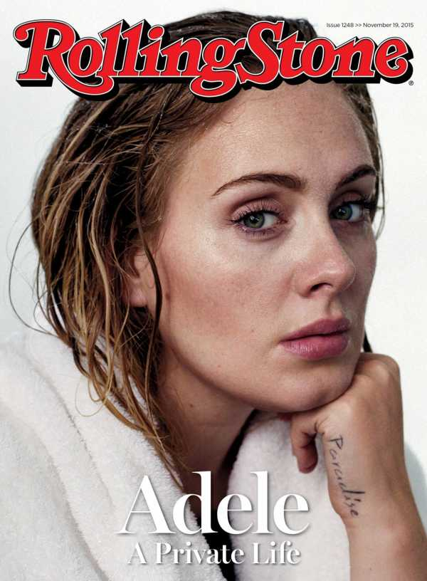 Adele Rolling Stone cover 2015
