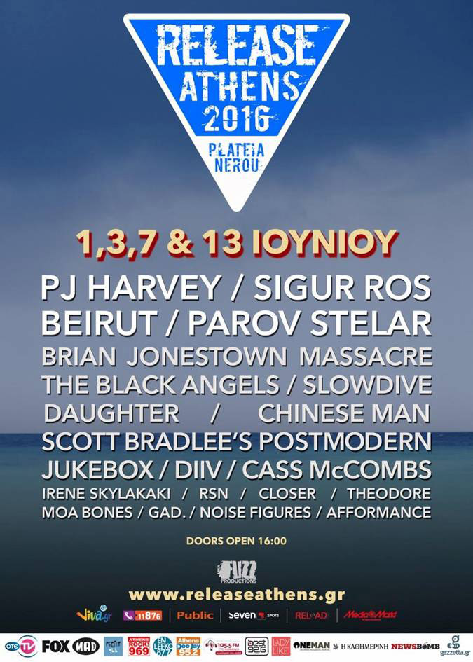 Release Athens 2016 | Complete line-up