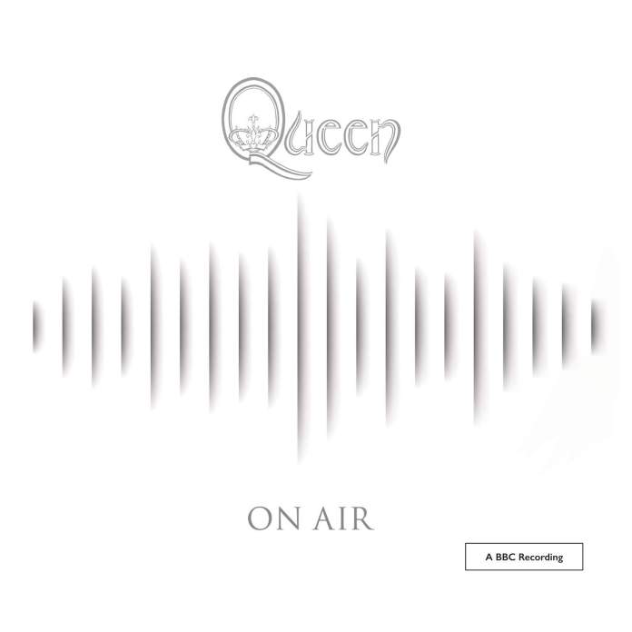 Queen on air - The complete BBC sessions (album cover) - Hit Channel