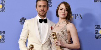 Ryan Gosling - Emma Stone (La La Land) - Golden Globes Awards 2017 - Hit Channel