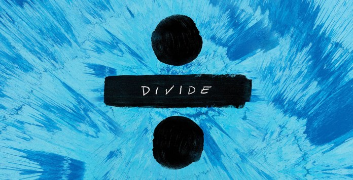 Divide - Ed Sheeran (album cover 2017 wide) - Hit Channel