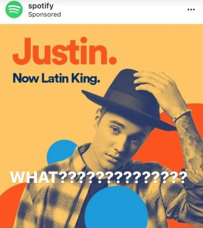 Justin Bieber - Latin King - Spotify - Hit Channel
