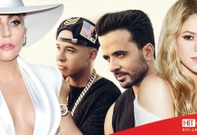 Lady Gaga - Luis Fonsi - Daddy Yankee - Shakira - Hit Channel