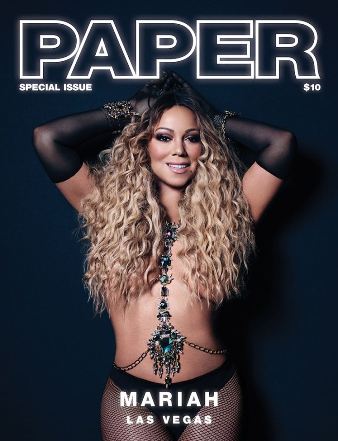 Mariah Carey (Paper magazine Las Vegas) - Hit Channel
