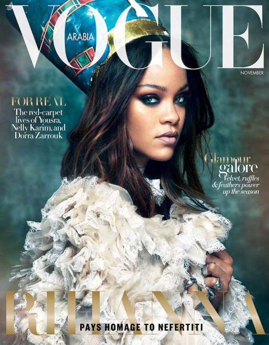 Rihanna - Vogue Arabia - November 2017 - Hit Channel
