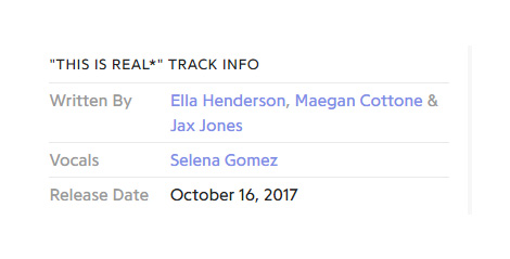Selena Gomez - Jax Jones - This Is Real (Genius) - Hit Channel