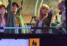 Taylor Swift - London - video clip shooting - Hit Channel