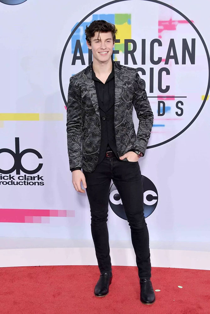SHAWN MENDES - RED CARPET - AMERICAN MUSIC AWARDS - AMAs 2017 - Hit Channel