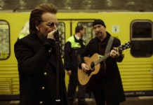 U2 - Bono - Berlin metro - Hit Channel